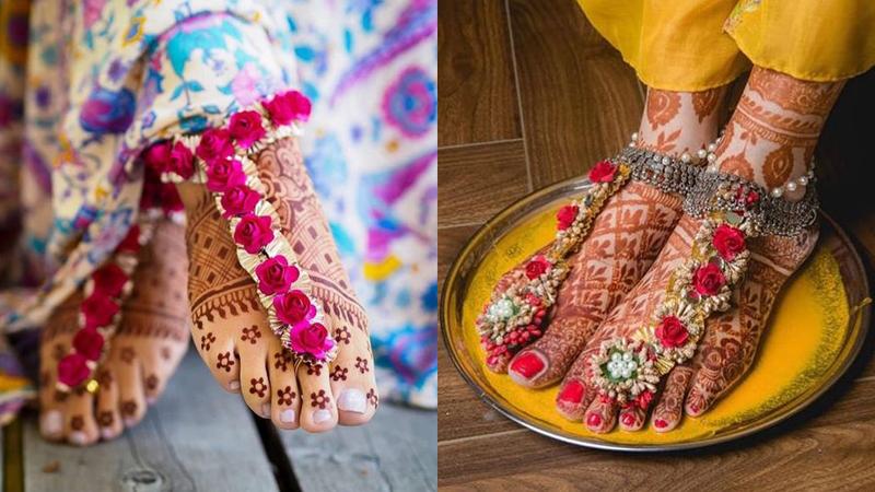Floral Anklet